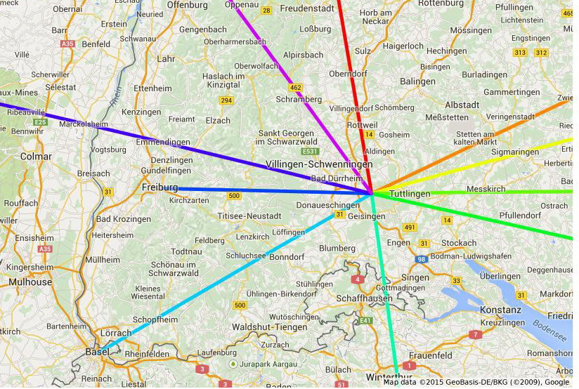 kraftorte deutschland karte Der Ippinger Riese   Leyline Knoten kraftorte deutschland karte
